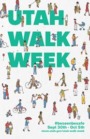 Utah Walk Week Poster 2019